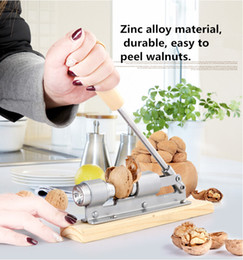 Wholesale High Nuts - New High Quality Mechanical Sheller Walnut Nutcracker Nut Cracker Fast Opener Kitchen Tools Fruits And Vegetables