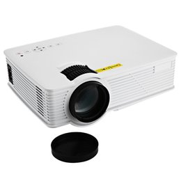 Deutschland Großhandels-GP-9 Mini Heimkino-Theater HD LCD Projektor 2 USB 2000 Lumen 1920 x 1080 Pixel Video Micro piCo Teaching Projektor cheap mini hd usb projector Versorgung