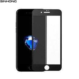 Wholesale Frosted Glass Screen - Matte Tempered Glass Full Coverage Cover For iPhone 6 6S 7 7 Plus 7plus Screen Protector Toughened Film Frosted Anti Fingerprint
