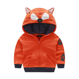 Wholesale Cartoon Sweater Kids - Wholesale- New Cemigo High quality Children Fashion Hoodies Boys Warm Sweatshirts Girls Cute Cartoon style Sweater Kids Fashion Top Clothes