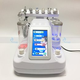 Wholesale Hydrafacial Skin - Salon Spa Microdermabrasion Hydrafacial RF Machine For Skin Rejuvenation Water Oxygen Jet Peeling Face Care Ultrasonic Beauty Instrument