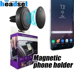 Wholesale Safe For Car - Car Mount Air Vent Magnetic Universal Car Mount Phone Holder for iPhone 6 6s One Step Mounting ,Reinforced Magnet Easier Safer Driving