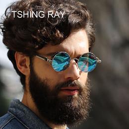 376b005f670 sunglasses ray woman NZ - TSHING RAY Vintage Men Steampunk Sunglasses Women  Fashion Gothic Style Mirrored