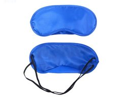 Wholesale Professional Treatments - 2017 Eye Mask Shade Nap Cover Blindfold Travel Rest Professional Skin Health Care Treatment Sleep Variety Color Options