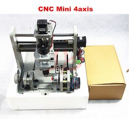 Wholesale Waxing Wood - 4axis Engraving machine for DIY, Mini CNC Drilling and Milling Machine for wood, plastic, wax, softsteel and etc