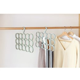Wholesale Towel Ideas - best ideas about Clothing Racks Nort European style hanger, multi-functional tie and scarf and belt storage ring rack