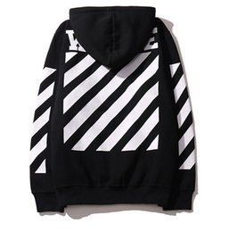Wholesale Gd Hoodie - Hot Real Off White Hoodie With the Off-white Tags Exo GD Religious Fleece Hoodie Sweatshirts Cotton Hoodies Black White Colors