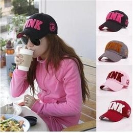 Wholesale Big Summer Hats Women - PINK hat adult and big kids Baseball cap summer Sun hat snapback hats sports hip hop flat sun hat 8 color free DHL