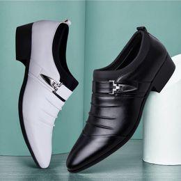 летняя обувь от oxford Скидка 2019 дизайнерские летние сандалии мужские итальянские марки слип на оксфордской обуви для мужчин с острым носом туфли платье кожаные свадебные туфли человек сапато социальный
