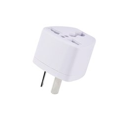 power socket eu Australia - Universal Travel Adapter EU US AU to UK AC Travel Power Plug Charger Adapter Converter 250V 10A Socket Converter White