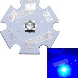 Wholesale Cree Xt E - Wholesale-10pcs lot US Original Cree XT-E XTE Royal Blue 450-455NM Led diodes Emitter on 20mm Board