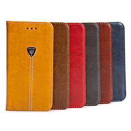 Wholesale Luxury Phone Cases Galaxy S4 - Luxury Business wallet flip phone case PU Credit Card Stand Case For Samsung Galaxy S4 S5 S6 S7 Edge S8 plus Note 5 7 with card slots