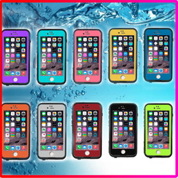 Wholesale New Waterproof Shockproof Case Iphone - New Redpepper Shockproof Dustproof Waterproof Case Cover for iphone 6 s 6s Plus with Retail Box