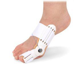 Wholesale Foot Bunions - 10pcs lot Brand new Big Toes Hallux Valgus Corrector Seperator Relief Foot Pain Bunion Device Hallux Valgus Pro orthopedic