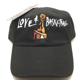 Wholesale Boo Mario - Black Love & Basketball Movie Dad Cap Hat OG 90s Vtg Retro Style Martin Show cap bone gorras sawg Denim Distressed Boo Mario Ghost