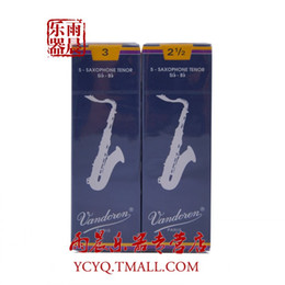 Wholesale Reeds For Sax - Wholesale- tenor sax reeds France Vandoren Classical Blue box Bb Tenor saxphone reeds