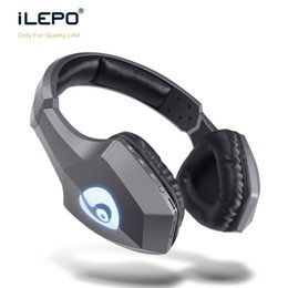 Wholesale Bluetooth Headphones Headsets - Fashion Bluetooth Stereo Music Headphone Adjustable Wireless Headset Foldable Design Headband with Microphone for MP3 Cell Phones S33
