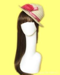 La nouvelle mode lisse soignée art maquiagem perruque de tête de coiffeur blanc PE se dresse en gros avec des bandes antidérapantes gratuites 52cm de hauteur YZX 022 ? partir de fabricateur