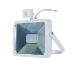 Wholesale Pir Led Floodlight New - Wholesale- LED Motion Sensor Flood lights PIR Floodlights 15W Induction Sense Reflector Outdoor Spotlights IP65 220V 2016 New High Quality