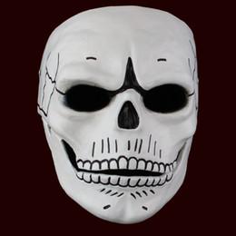 2017 новая маска смолы Хэллоуин призрак от Поставщики защитный кабель для передачи данных