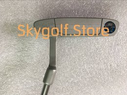 Wholesale Face Golf - 1pc Smilling Face SC Newport2 Golf Putter With 33 34 35inch Steel Shaft Removable Weights 2 Models golf club putters new