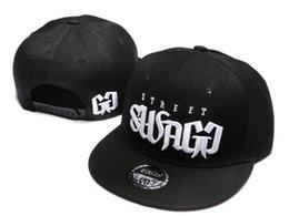Wholesale Swagg Snapback Caps - holesale-street swagg Snapback hat 2017 New brand baseball cap styles fashion women men snapbacks hats hiphop reggae cap Free Shipping