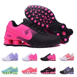 Wholesale Girls Shoes Size New - 2017 New Arrival Shox Avenue 803 NZ DELIVER 809 Girls Womens white pink red Athletic Sneakers Sports Running Shoes Size 36-40