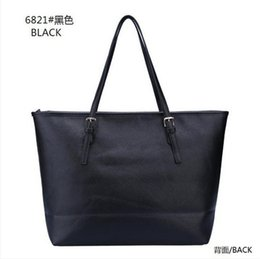 Wholesale Gold Silver Bag Women - Fashion Women M Bags Handbags PU M Korse Leather Famous Jet Set Travel Saffiano Famous Brand Designer Tote Lady MICHAEL Female G Bags 6821a