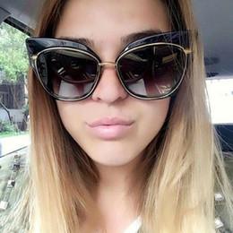 f4bf364563543 2019 estilo grande dos vidros Atacado- moda de grandes dimensões óculos de sol  mulheres olho