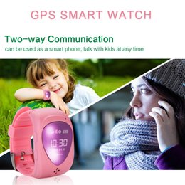 Wholesale Emergency Calling - Children's Smart Watch Kid Boy Girl Safe Wristwatch JM09 GSM GPRS GPS Locator Tracker Smartwatch Child Guard with Emergency Call