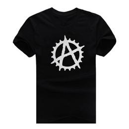 Wholesale Short Bmx - Anarchy Cog BMX New Fashion Man T-Shirt Cotton O Neck Mens Short Sleeve Mens tshirt Male Tops Tees Wholesale