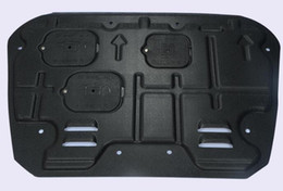 Wholesale Honda Civic Engines - Free shipping! High quality 3D plastic steel car engine skid plate,motor bottom panel,guard plate,protecting plate for Honda Civic 2016