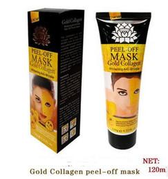 Lotus succión colágeno de oro blanco una máscara de lágrima para eliminar la película de la nariz negro 120 ml fabricantes de venta desde fabricantes