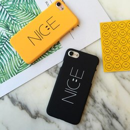 Wholesale Nice Phone Cases - Nice pattern frosted matte hard PC phone case for Iphone 8 plus 7 plus 6 6s