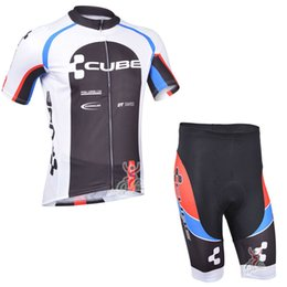 cube pro team Promo Codes - 2017 Brand Pro Team men Cube Cycling Jersey Ropa Ciclismo Quick-Dry Sports Jersey Cycling Clothing Bike Wear Mtb Jersey C3003