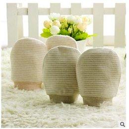 Wholesale Infant Cotton Finger Gloves - Soft Baby Gloves Newborn Infant Scratch Mittens Full Finger Boys Girls Baby 100% Cotton Breathable gloves