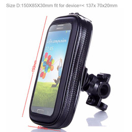 Wholesale Zte Grand X Screen - Touch Screen Waterproof Bicycle Bike Mobile Phone Cases Bags Holders Stands For ZTE nubia N1 lite Z11 Max N1 Z11 mini Z9 mini,Grand X Max+,