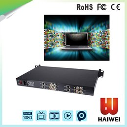 Wholesale Channel Encoder - H3614 h.264 encoder 4 channel SDI Input and 4 SDI Loop out streming encoder Radio & Broadcasting Equipment