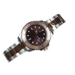 Wholesale Men Luxury Automatic Watch Replicas - 43MM Luxury Men's WATCHES brand Gold Ceramic Bezel Dial 116610-97200 Stainless Steel Automatic Mens geneva Watch Man replicas Wristwatch