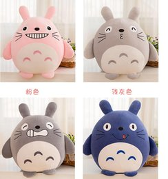 Wholesale Soft Toys Dolls - 45*45cm lovely plush toy my neighbor Totoro plush toy cute soft elasticity doll totoro kids toys