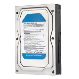 "Wholesale Caddy Adapter Bay - Wholesale- Single Bay 2.5"" to 3.5"" SATA Converter Adapter USB 3.0 External Hard Drive Enclosure Case Internal HDD & SSD Tray Caddy Internal"