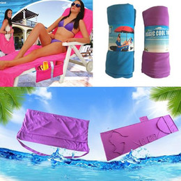 "Wholesale Travel Loungers - Camping travel Outdoor Sunbath Lounger Bed Mate Chair Cover Coolcore Beach Towel 30""x83""new 3 colors"