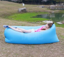 Wholesale Inflatable Sofa Kids - Factory direct sale with money summer inflatable inflatable sofa bedFold the outdoor beach that occupy the hom the sofa Inflatable lazy sofa