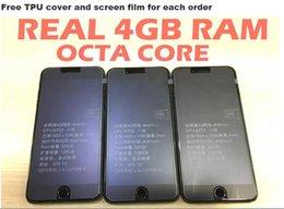 "Wholesale Real Card 32gb - Goophone i7 plus V8 100% Real OCTA CORE 4GB RAM 32GB ROM 5.5"" IPS Screen 1920*1080 16.0MP camera 4G LTE Fingerprint"