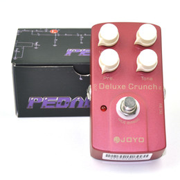Wholesale Joyo True Bypass - JOYO JF-39 Deluxe Crunch Overdrive Guitar Pedal Effect True Bypass Red