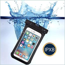 llavero auto táctico Rebajas Nueva superficie transparente lateral ventana de teléfono impermeable bolsa calidad teléfono impermeable teléfono PVC bolsa impermeable bolso