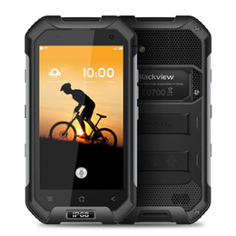 Wholesale Cheap Lte Dual Sim Phones - cheap phone mobile Smartphone Blackview BV6000S 16GB 2GB IP68 Waterproof Shockproof 4.7'' Android6.0 7.0 MTK6735 MTK6737T Quad-core 1.3GHz