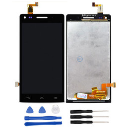 Wholesale Parts Accessories For Mobile - obile Phone Accessories Parts Mobile Phone LCDs For Huawei Ascend G6 Original LCD Display and Touch Screen Assembly Repair Part 4.5'&...