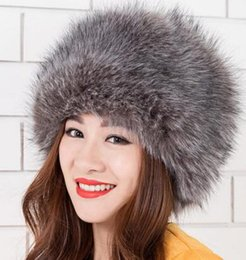 Wholesale Rain Protection Cover - Brand New winter hat with fur fox fur ear protection cover women hat and copious liner warm knit hat fur selling High quality Free Shipping