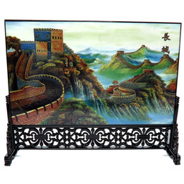 Wholesale Exhibition Table - Post wooden wooden ware, screen, table, Chinese wind, business gift, conference, exhibition, souvenir, foreign affairs gift